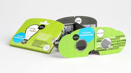 stereoskop kieszonkowy | pocket stereoscope